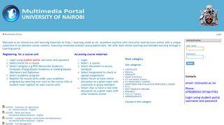 Uon Learning Portal