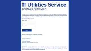Utility Service Portal Login