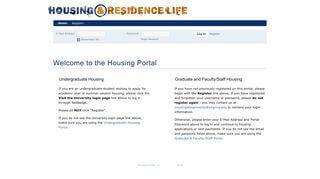 Uva Housing Portal