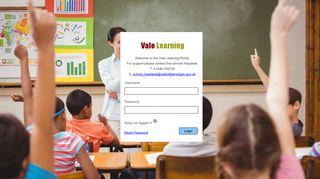 Vale Learning Portal