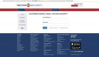Vector Security Portal