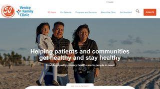 Venice Family Clinic Portal