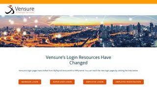 Vensure Payroll Portal