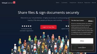 Virtual Cabinet Document Portal Login