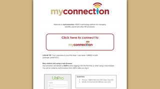 Visit Myconnection Login