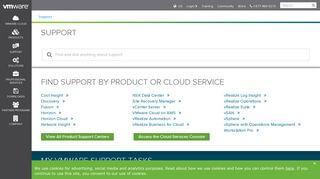 Vmware Support Portal
