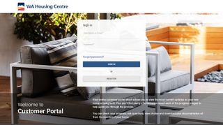 Wa Housing Centre Client Portal