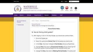 Waterville Parent Portal