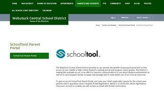 Webutuck Schools Parent Portal