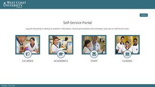West Coast Student Portal