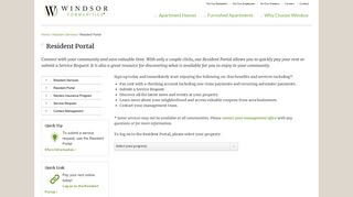 Windsor At Aviara Residence Portal