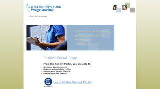 Wny Urology Patient Portal