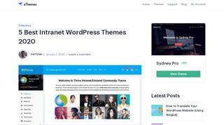 WordPress Intranet Portal Theme