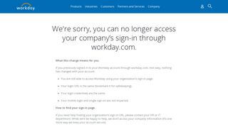 Workday Employee Portal