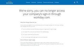 Workday Employee Portal