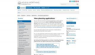 Worthing Planning Portal