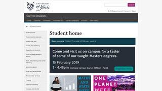York University Student Portal