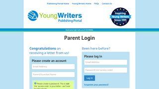Young Writers Publishing Portal
