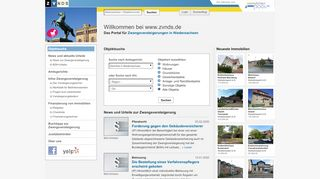 Zvg Portal De Niedersachsen
