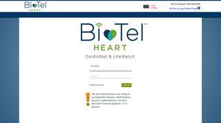 Access Cardionet Login