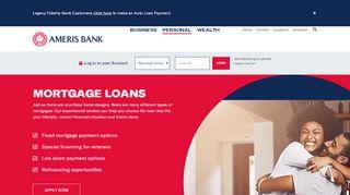 Ameris Bank Mortgage Login