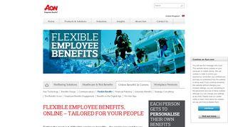 Aon Flexible Benefits Login