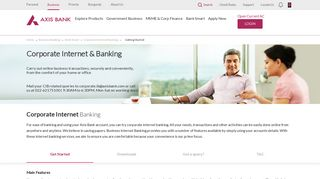 Axis Bank Paypro Login