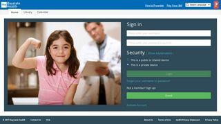 Baystate Patient Portal