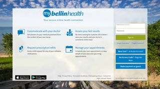 Bellin Health Mychart Login