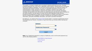 Boeing Ets Login From Home
