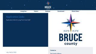 Bruce County Avanti Login