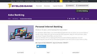 Byblos Bank Online Login