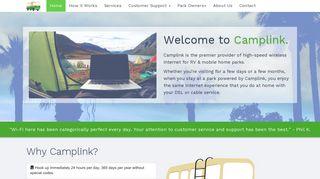 Camplink Login Page