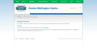 Centre Wellington Hydro Login