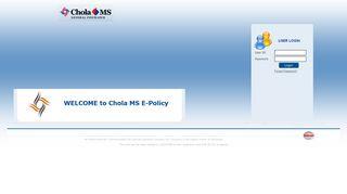 Chola E Policy Login