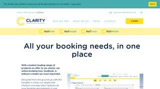 Clarity Travel Management Login