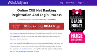 Cub Internet Banking First Time Login