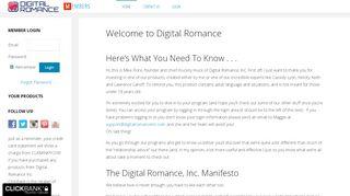 Digital Romance Login