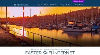 Ecco Wireless Login Page