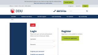 Estudent Ddu Edu Et Authentication Login