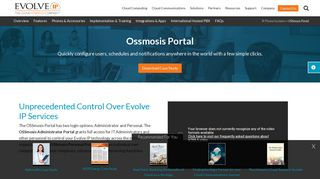 Evolve Ip Osmosis Login