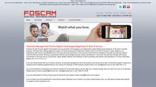 Foscam Authentication Failed Method Login