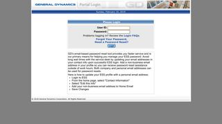 General Dynamics Knet Login