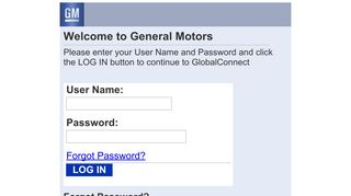 Gmglobalconnect Login Center For Learning