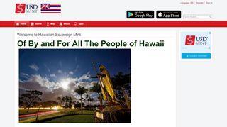 Hawaiian Sovereign Mint Login