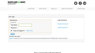 Heartland Alliance Email Login