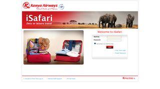 Kenya Airways Staff Login Ipride