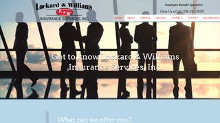 Lockard And Williams Insurance Provider Login
