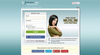 Muslima Auth Login
