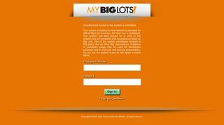 Mybiglots Net Login